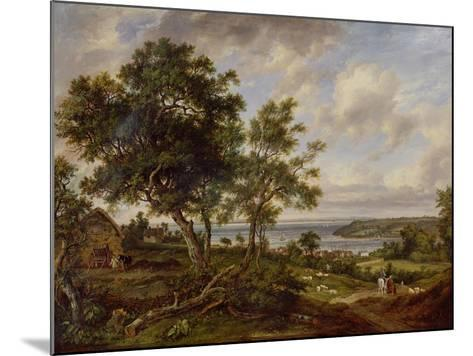 Meeting of the Avon and the Severn, 1826-Patrick Nasmyth-Mounted Giclee Print
