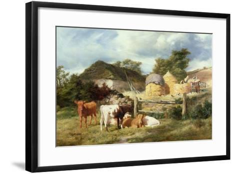 A Highland Croft, 1873-Peter Graham-Framed Art Print