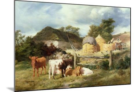 A Highland Croft, 1873-Peter Graham-Mounted Giclee Print