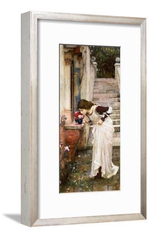 The Shrine-John William Waterhouse-Framed Art Print