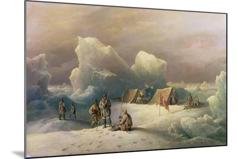Arctic Expedition: the Most Northern Encampment of H.M.S. Alert, 1877-Richard Bridges Beechey-Mounted Giclee Print