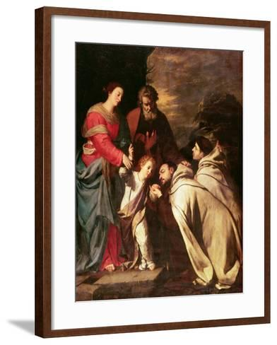 The Adoration-Jusepe de Ribera-Framed Art Print