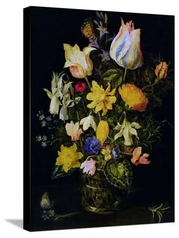 Vase of Flowers-Jan Brueghel the Elder-Stretched Canvas Print