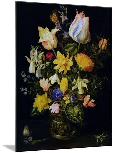 Vase of Flowers-Jan Brueghel the Elder-Mounted Giclee Print