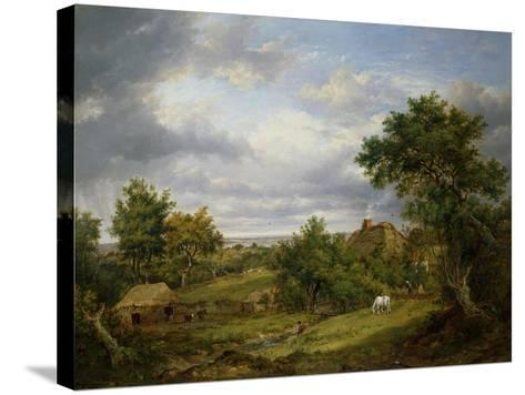 View in Hampshire, 1826-Patrick Nasmyth-Stretched Canvas Print