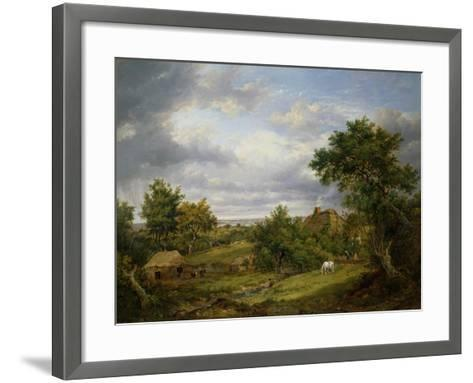 View in Hampshire, 1826-Patrick Nasmyth-Framed Art Print