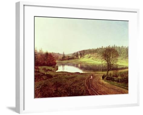 Friday Street-George William Mote-Framed Art Print