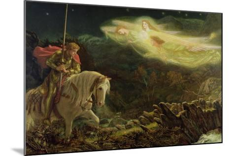 Sir Galahad - the Quest of the Holy Grail, 1870-Arthur Hughes-Mounted Giclee Print
