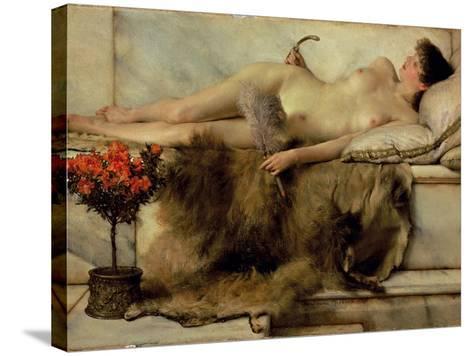 The Tepidarium, 1881-Sir Lawrence Alma-Tadema-Stretched Canvas Print