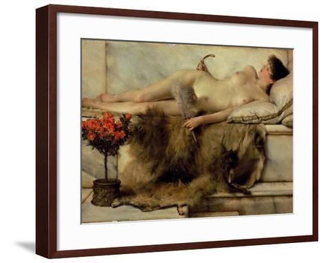 The Tepidarium, 1881-Sir Lawrence Alma-Tadema-Framed Art Print