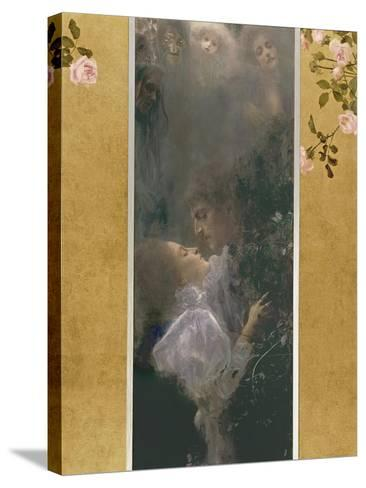 Allegory of Love, 1895-Gustav Klimt-Stretched Canvas Print