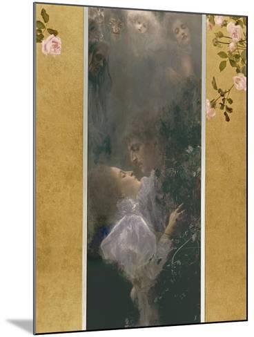 Allegory of Love, 1895-Gustav Klimt-Mounted Giclee Print