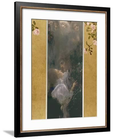 Allegory of Love, 1895-Gustav Klimt-Framed Art Print