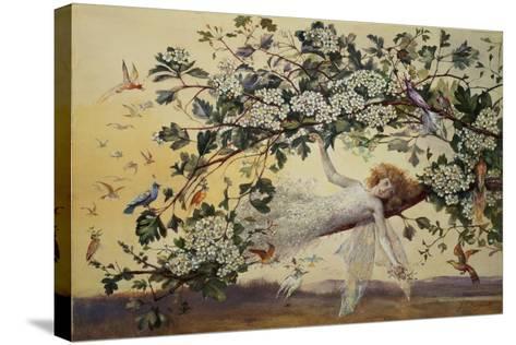 Ariel, C.1858-68-John Anster Fitzgerald-Stretched Canvas Print