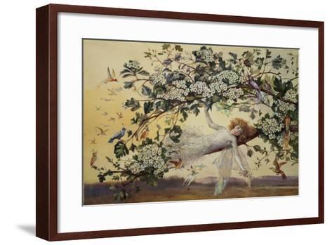 Ariel, C.1858-68-John Anster Fitzgerald-Framed Art Print
