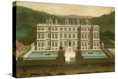 A View of Longleat-Jan Siberechts-Stretched Canvas Print