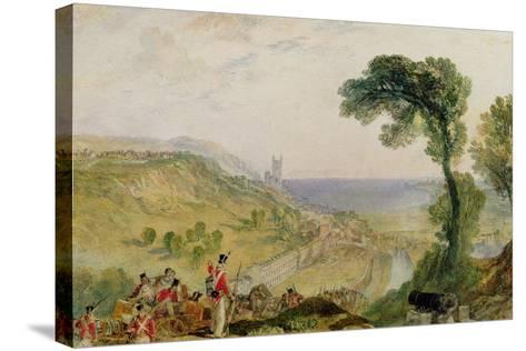 Hythe, Kent-J^ M^ W^ Turner-Stretched Canvas Print