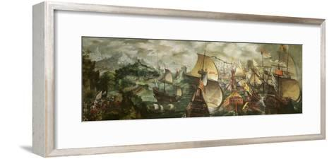 The Armada, 1588-Nicholas Hilliard-Framed Art Print