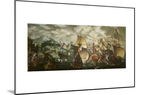 The Armada, 1588-Nicholas Hilliard-Mounted Giclee Print