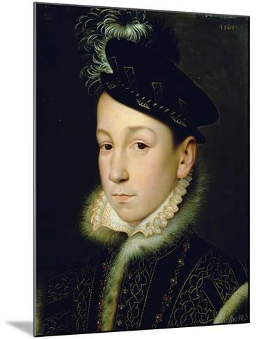 Charles IX (1550-74)-Francois Clouet-Mounted Giclee Print