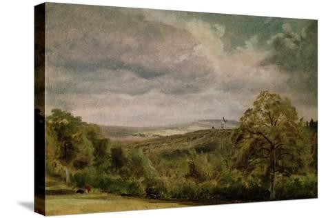 Landscape with a Windmill-Lionel Constable-Stretched Canvas Print