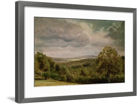 Landscape with a Windmill-Lionel Constable-Framed Art Print