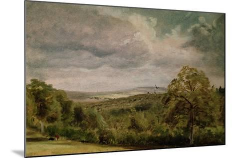 Landscape with a Windmill-Lionel Constable-Mounted Giclee Print