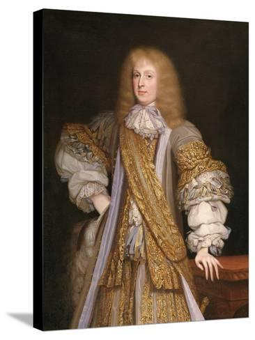Sir John Corbet of Adderley, C.1676-John Michael Wright-Stretched Canvas Print