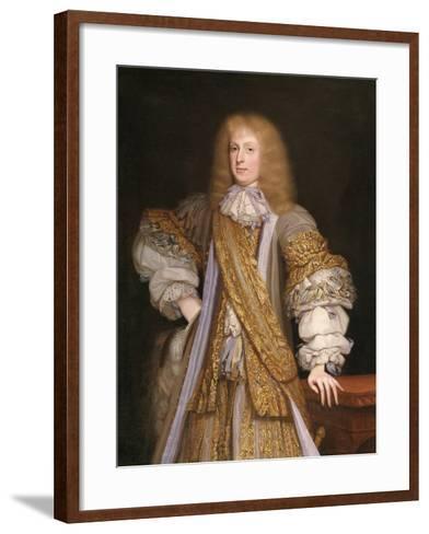 Sir John Corbet of Adderley, C.1676-John Michael Wright-Framed Art Print