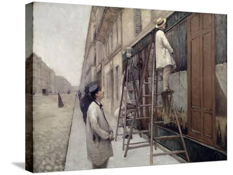 The Painters, 1877-Gustave Caillebotte-Stretched Canvas Print