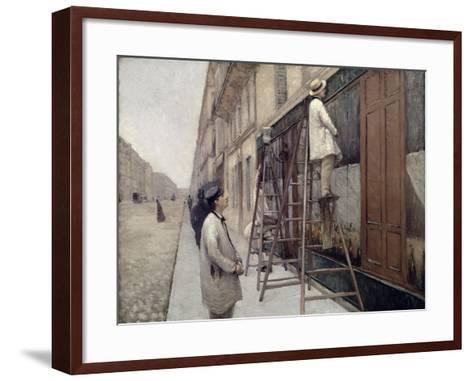 The Painters, 1877-Gustave Caillebotte-Framed Art Print