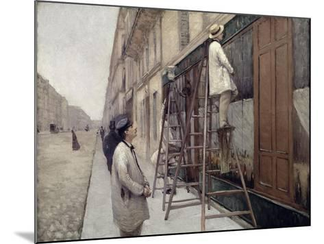 The Painters, 1877-Gustave Caillebotte-Mounted Giclee Print