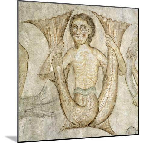 Anthropomorphic Figure--Mounted Giclee Print