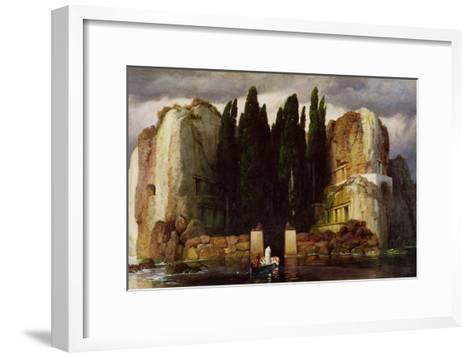 The Isle of the Dead, 1886-Arnold Bocklin-Framed Art Print