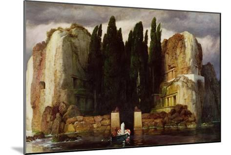 The Isle of the Dead, 1886-Arnold Bocklin-Mounted Giclee Print