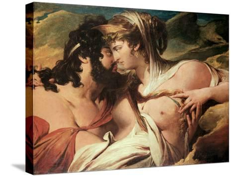 Jupiter and Juno on Mount Ida-James Barry-Stretched Canvas Print