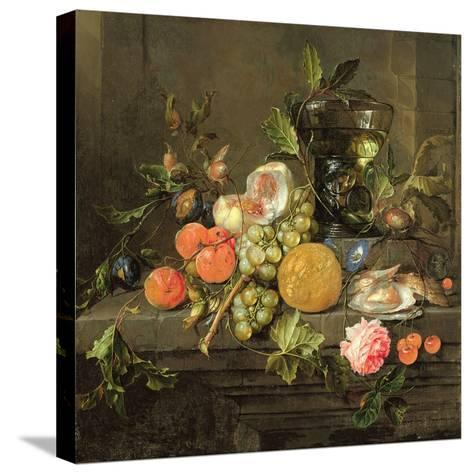 Still Life-Cornelis De Heem-Stretched Canvas Print