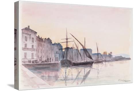 St. Tropez--Stretched Canvas Print