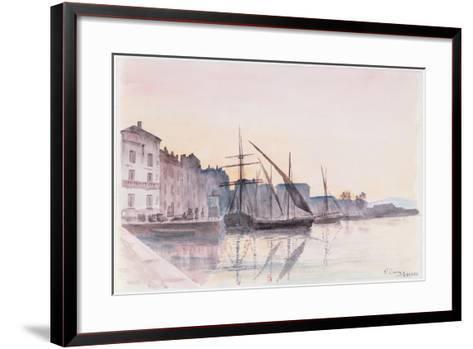 St. Tropez--Framed Art Print