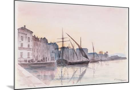 St. Tropez--Mounted Giclee Print