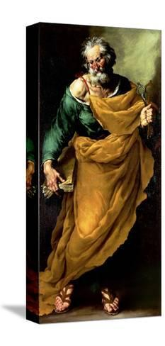 St. Peter-Francesco Fracanzano-Stretched Canvas Print