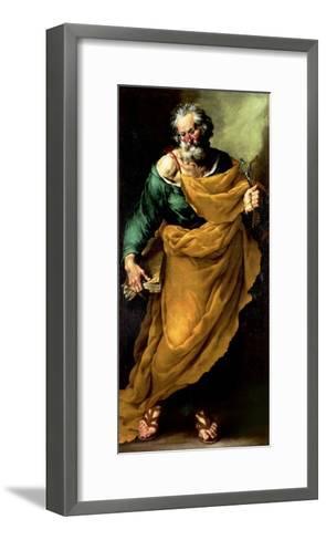 St. Peter-Francesco Fracanzano-Framed Art Print