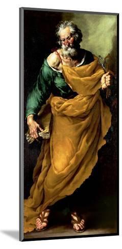 St. Peter-Francesco Fracanzano-Mounted Giclee Print