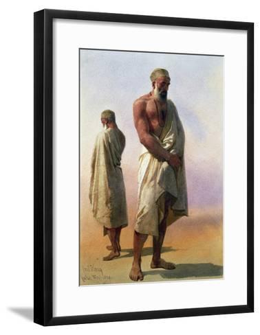 Two Dervishes, 1858-Carl Haag-Framed Art Print