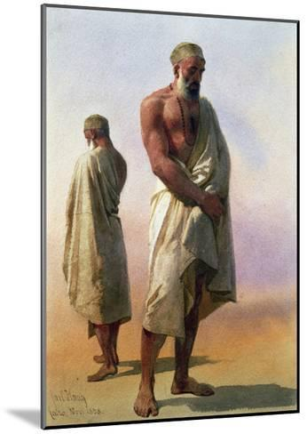 Two Dervishes, 1858-Carl Haag-Mounted Giclee Print