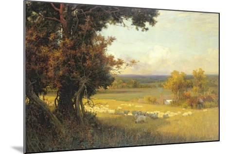 The Golden Valley-Sir Alfred East-Mounted Giclee Print