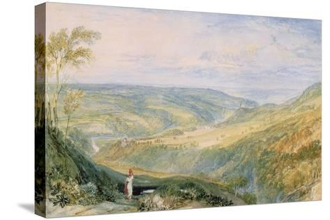 Gibside, County Durham from the South-J^ M^ W^ Turner-Stretched Canvas Print