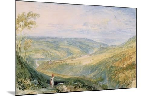 Gibside, County Durham from the South-J^ M^ W^ Turner-Mounted Giclee Print