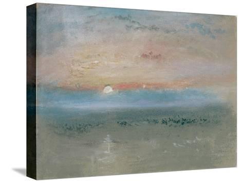 Sunset, C.1830-J^ M^ W^ Turner-Stretched Canvas Print