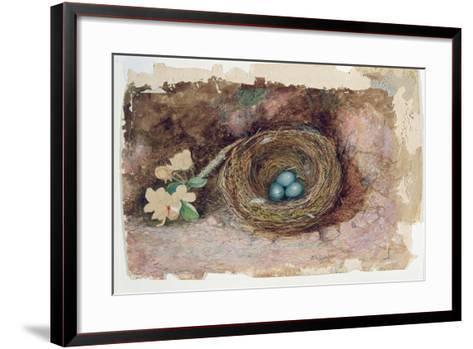Birds Nest, 1863-John Atkinson Grimshaw-Framed Art Print